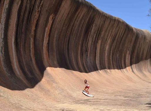 Le Wave Rock de Hyden en Australie