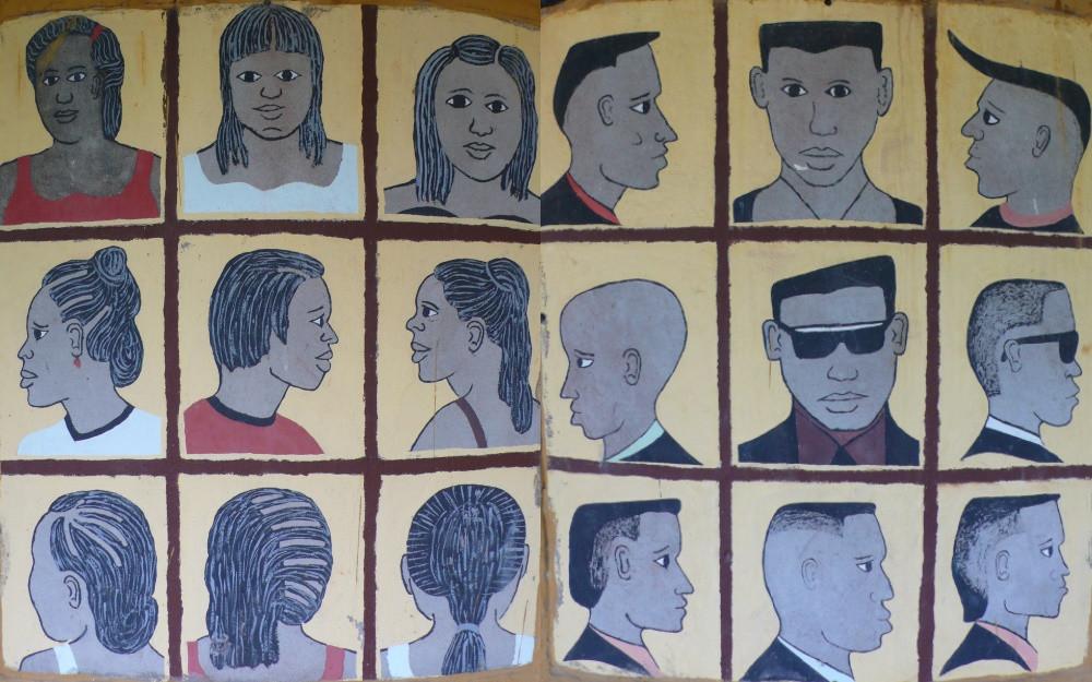 botswana portraits coiffeur