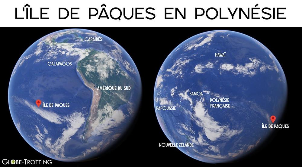 Ile de paques Globe