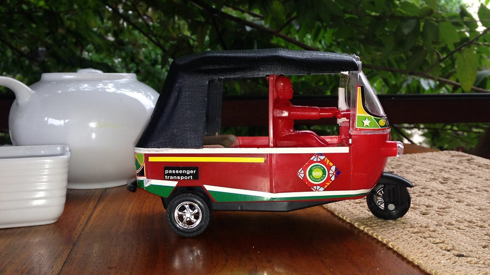 Tuktuk enfant sri lanka