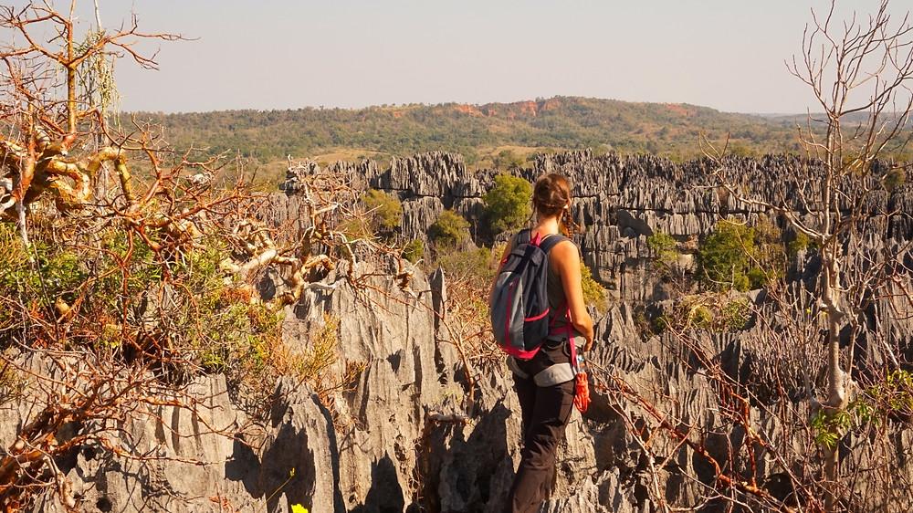 vue sur Tsingy de Bemahara