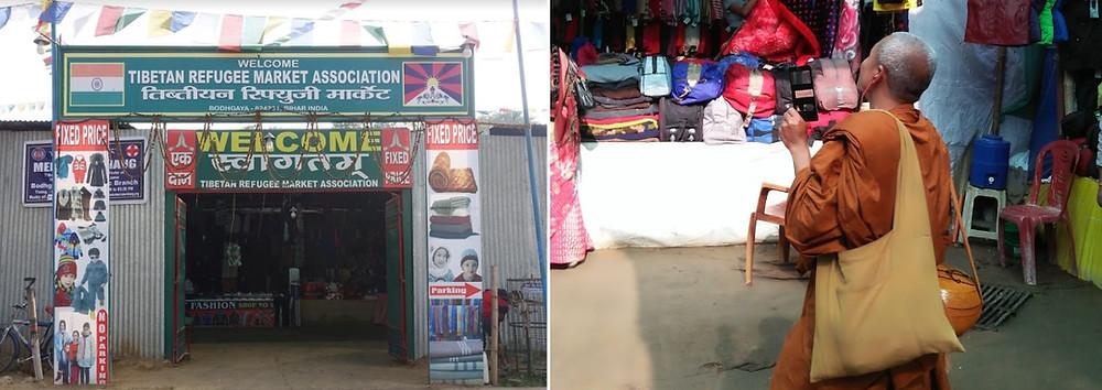 Tibetan Refugee Market de Bodghgaya