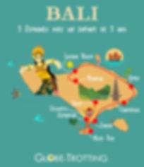 Itinéraire voyage Bali avec enfant