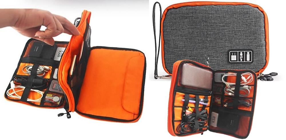 kit voyageur trousse accessoires voyage