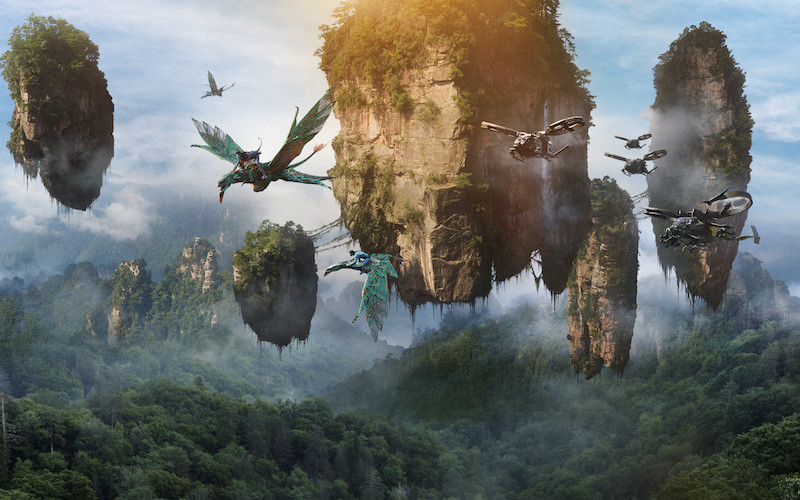 montagnes flottantes avatar chine
