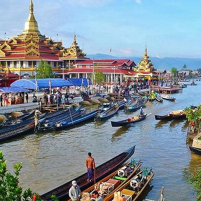 Lac Inlé Nyaung Swhe Birmanie itinéraire