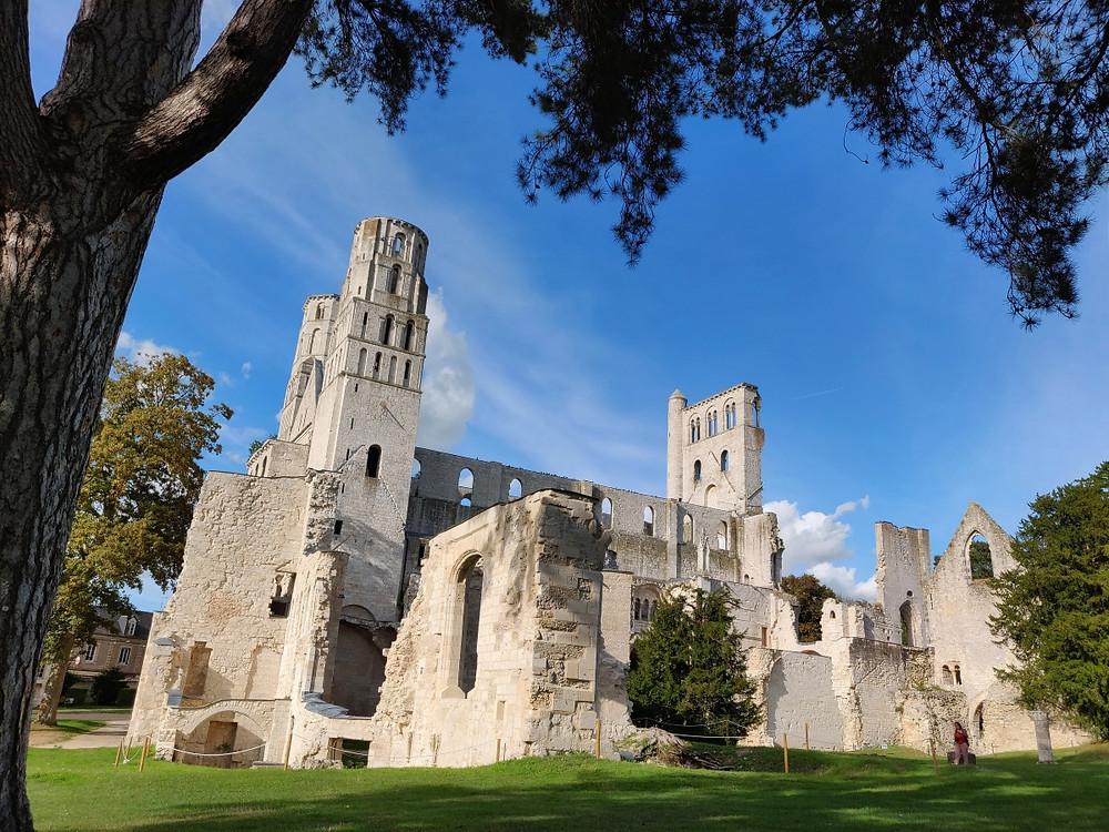 Jumièges normandie médiévale