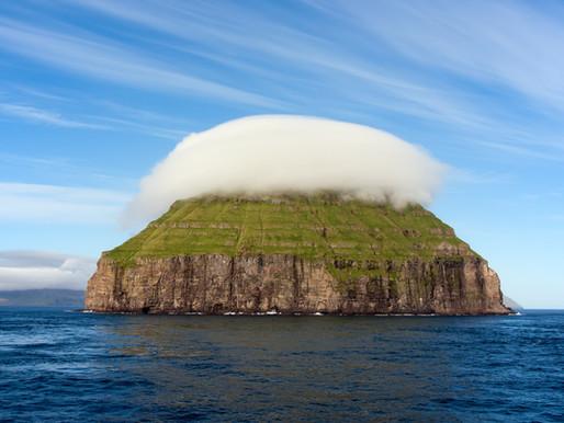 Lítla Dímun aux Iles Féroé (Danemark)