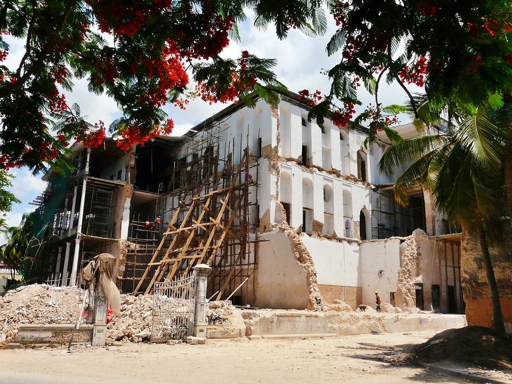 The house of wonders ruines