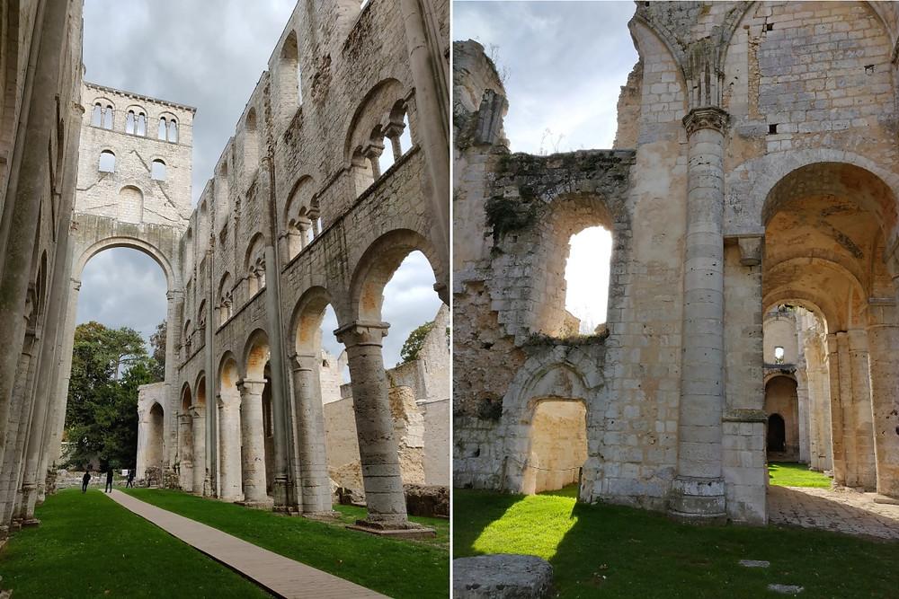 voyage en normandie médiévale Jumieges
