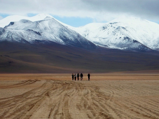 La traversée du Sud Lipez en Bolivie jusqu'au Chili