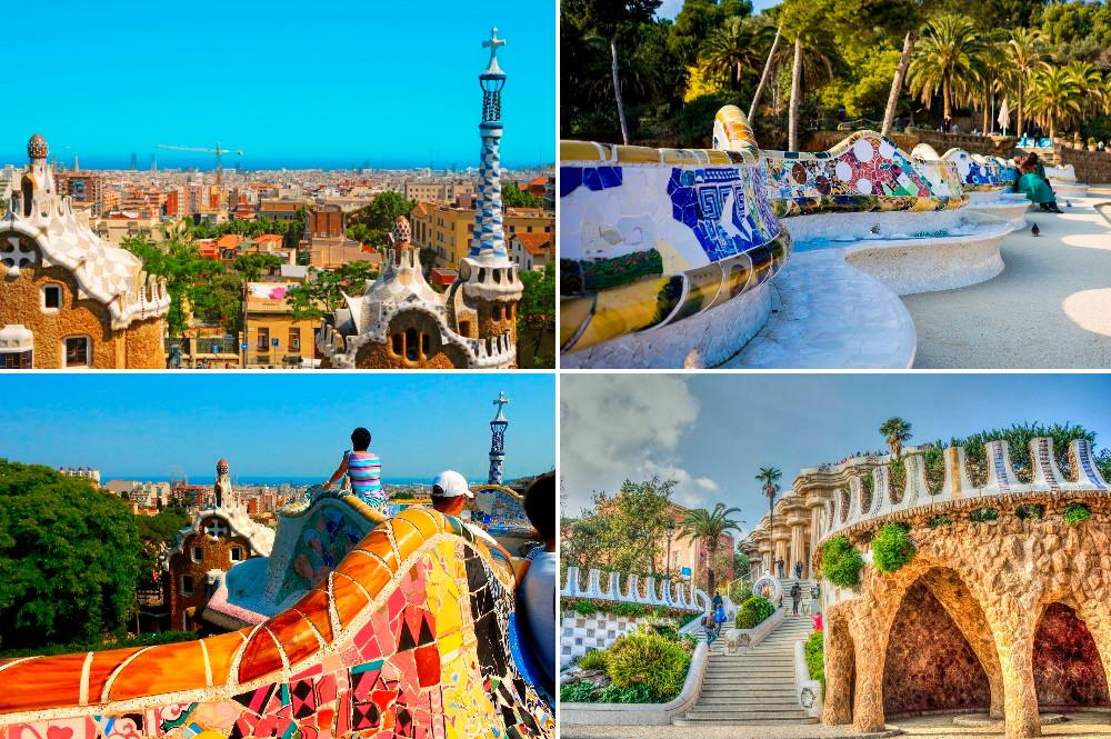lieux d'intérêt Barcelone Güell