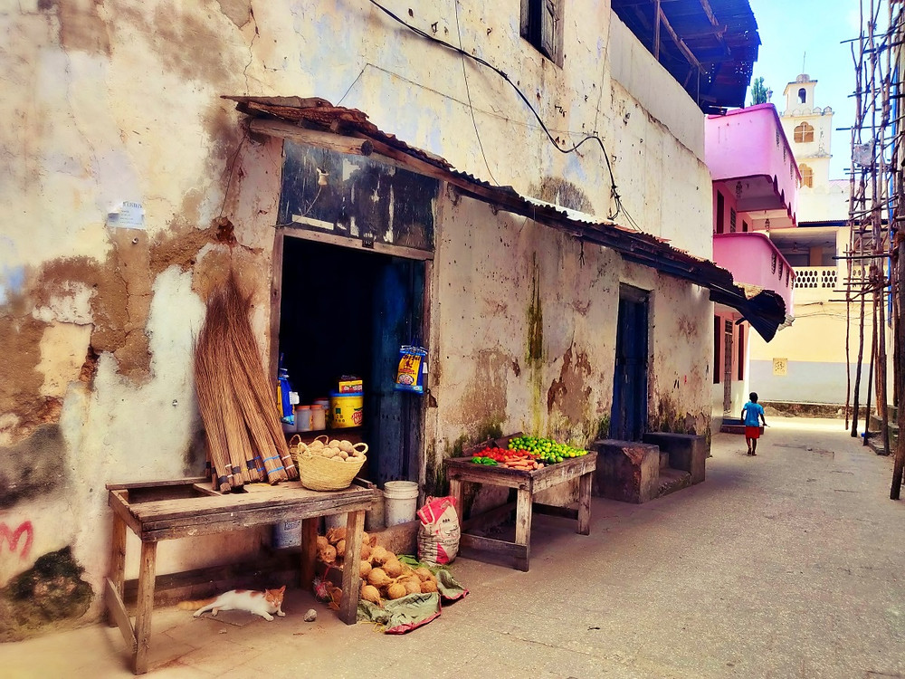 Stone town à zanzibar