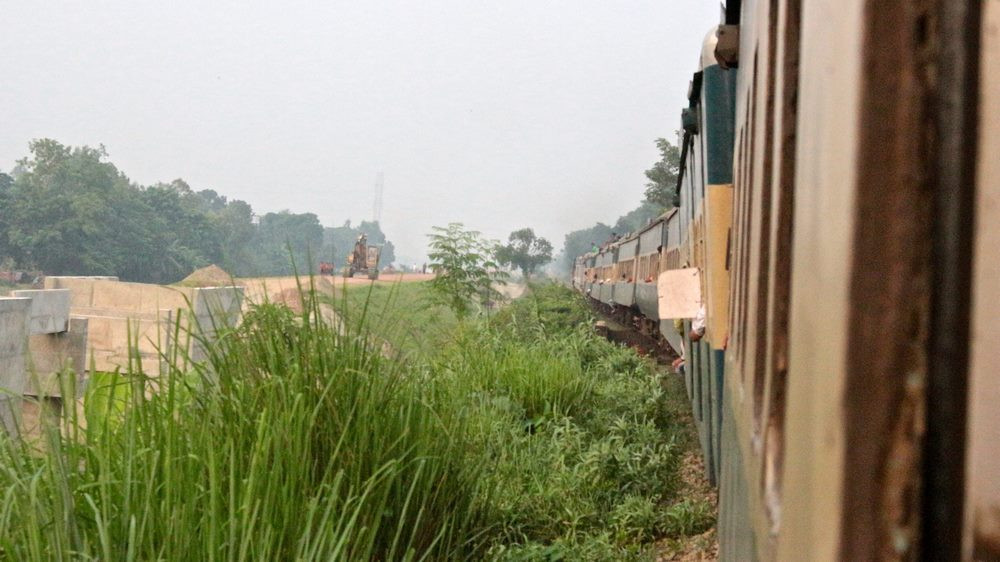 Train Bangladesh Dhaka Srimangal