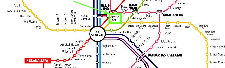 Pasar Seni Kuala Lumpur 2 jours
