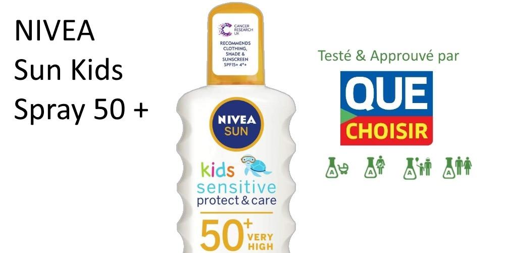 classement crème solaire enfants