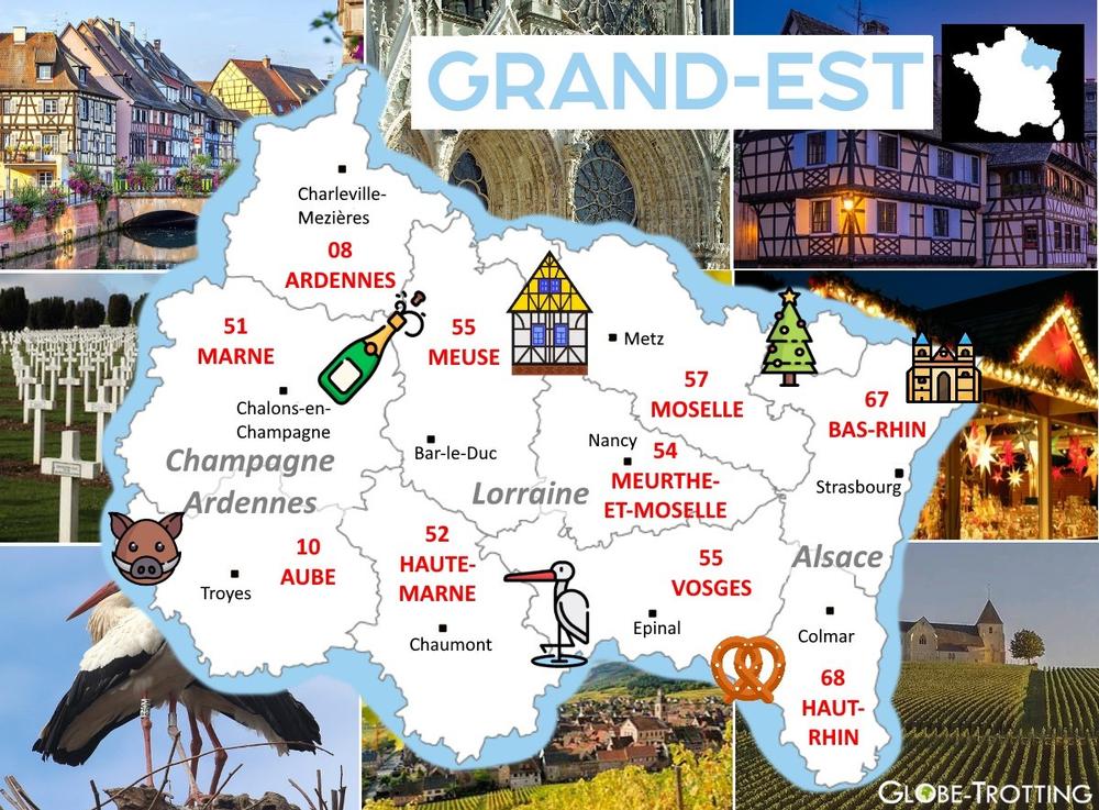 Ou partir France Grand Est