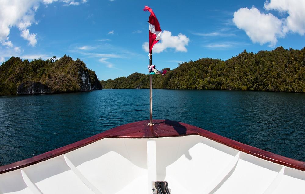 Raja Ampat bateau Sorong Wasai