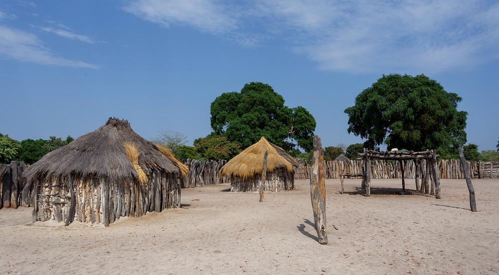 Villages Namibie de Rundu  à Grootfontein