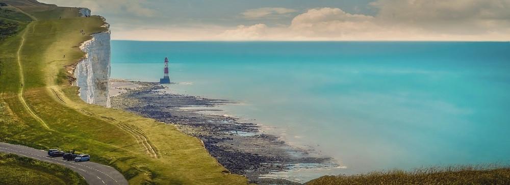 photo panoramique beachy head
