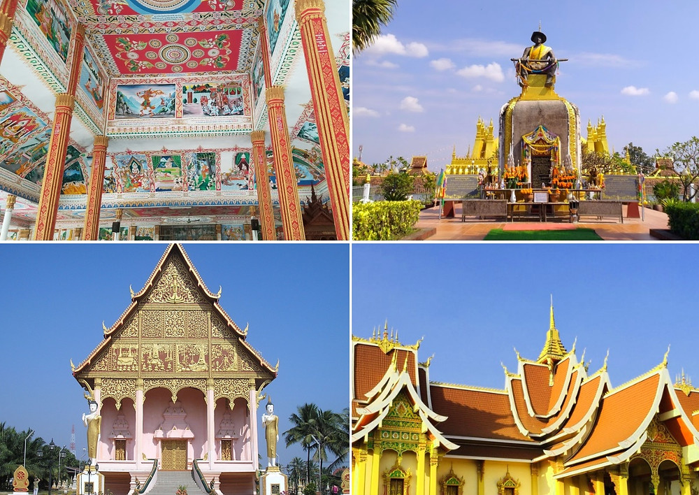 Vientiane Laos Temple Pha That Luang