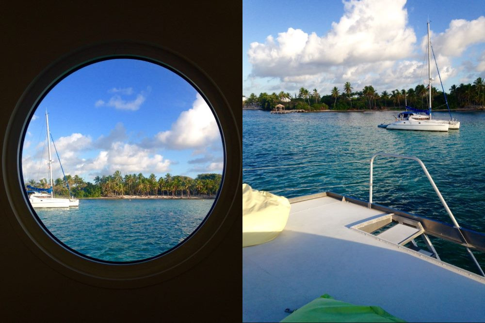 Hébergement insolite aqualodge Guadeloupe