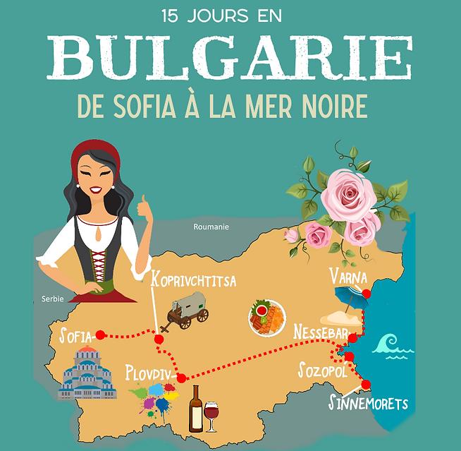Bulgarie voyage 15 jours