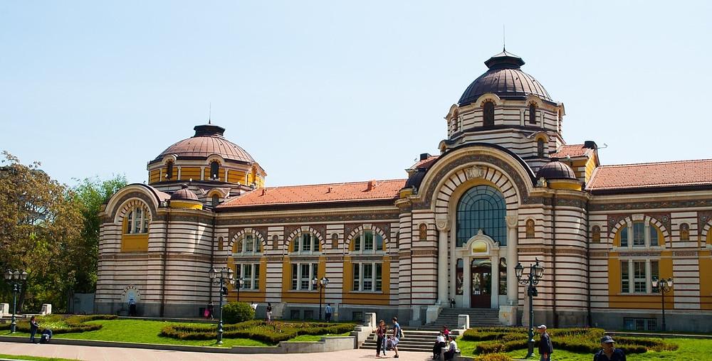 bains Sofia Bulgarie