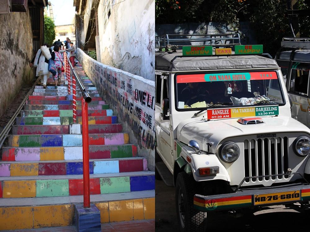 rues de Darjeeling, Inde