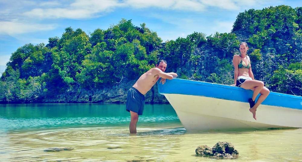 raja ampat barque