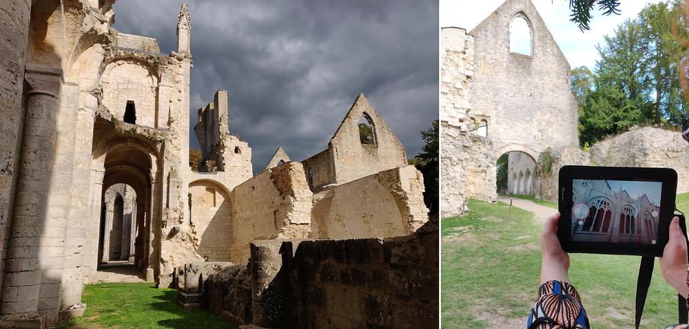 circuit normandie  - abbaye de jumièges