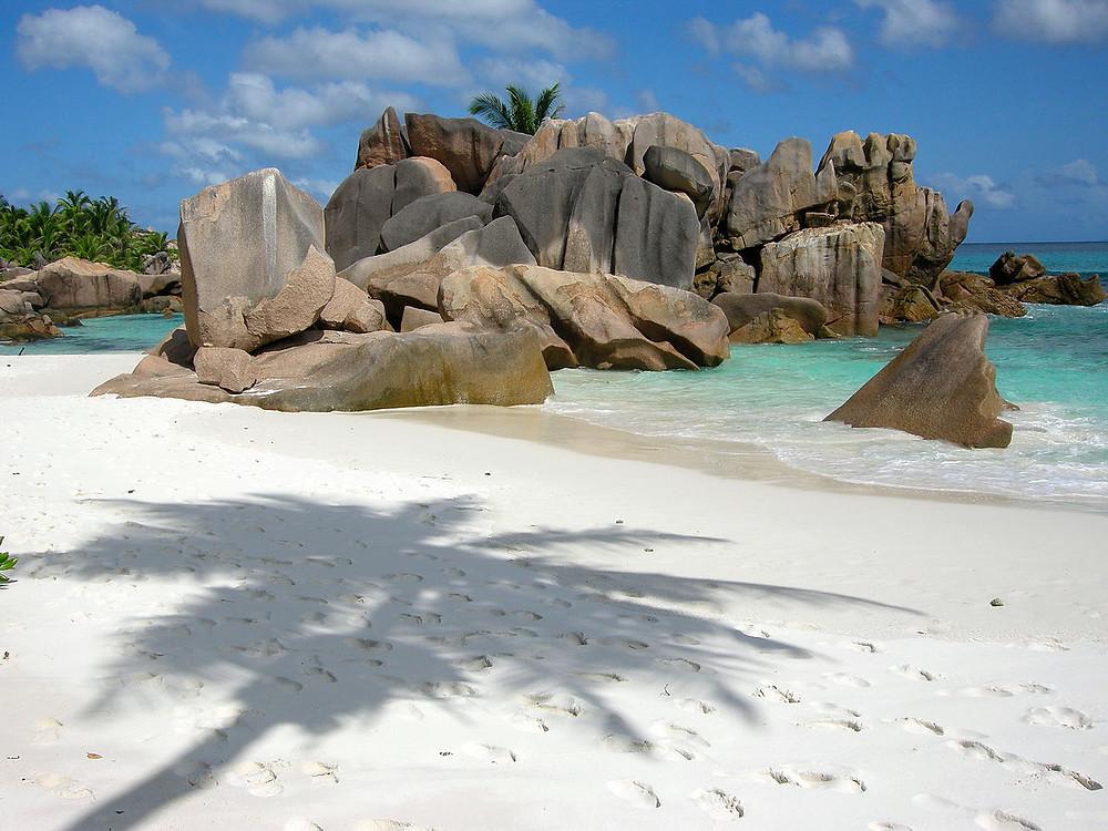 eaux turquoise anse source d'argent seychelles