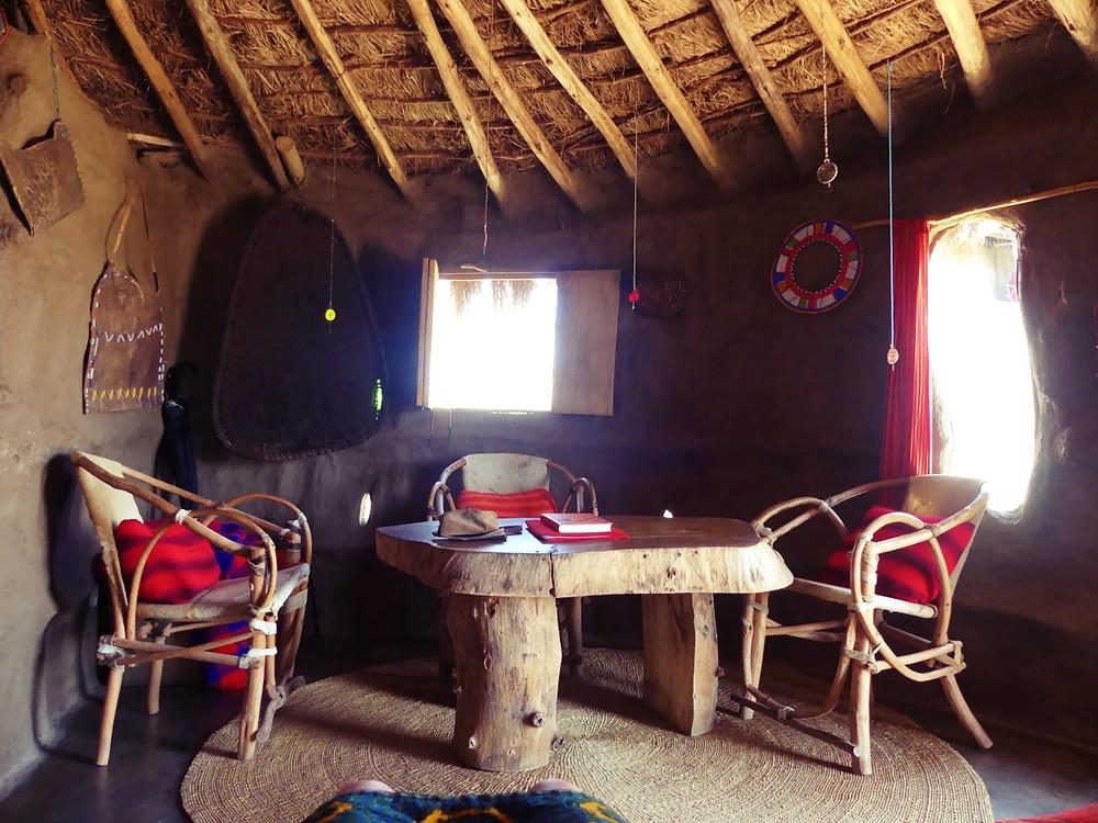 intérieur lodge maasai