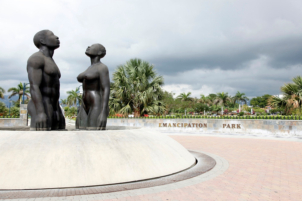 Kingston Jamaique Emancipation Park