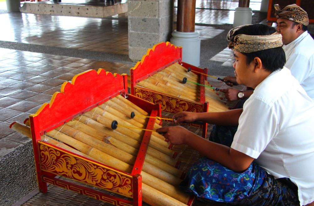 musiciens hotel bali ubud