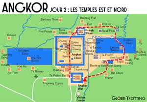 Angkor circuit est et nord
