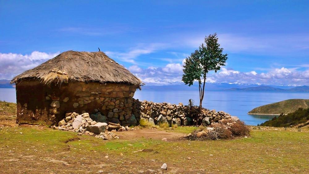 maison Isla del Sol Bolivie