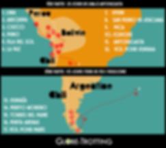 Itinéraire Amérique du Sud Pérou Bolivie Chili