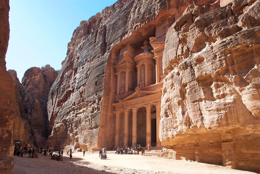 visiter Cité Pétra en Jordanie