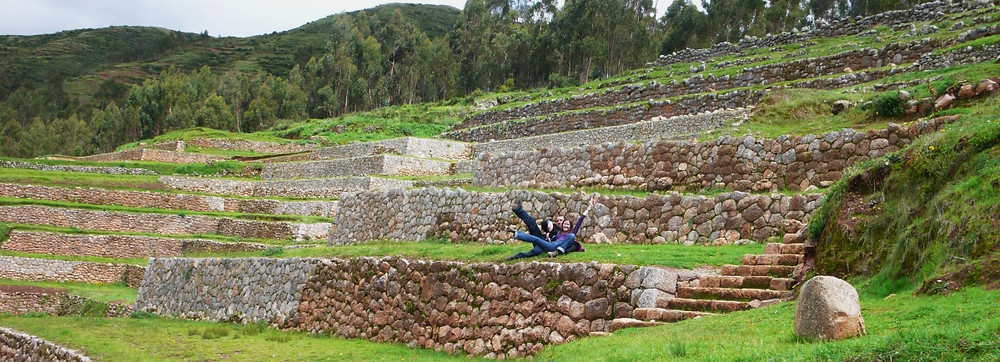 Chinchero vestiges incas
