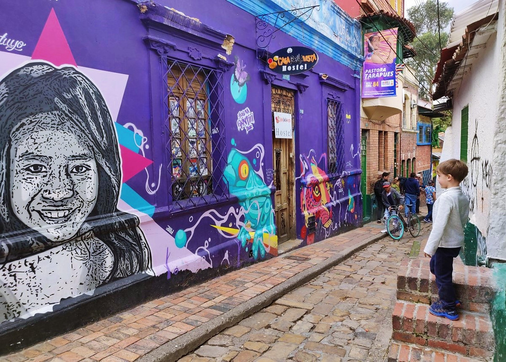 ruelle La Candelaria Bogota