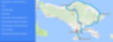Carte itinéraie Bali enfant