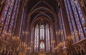 Sainte Chapelle de Paris Monument historique France