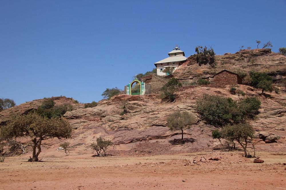 Gheralta église montagne