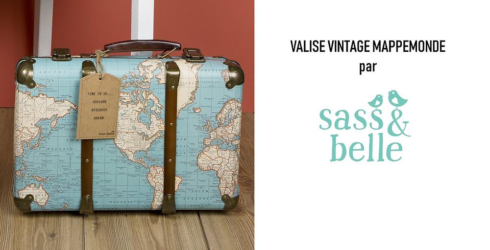 valise carte du monde