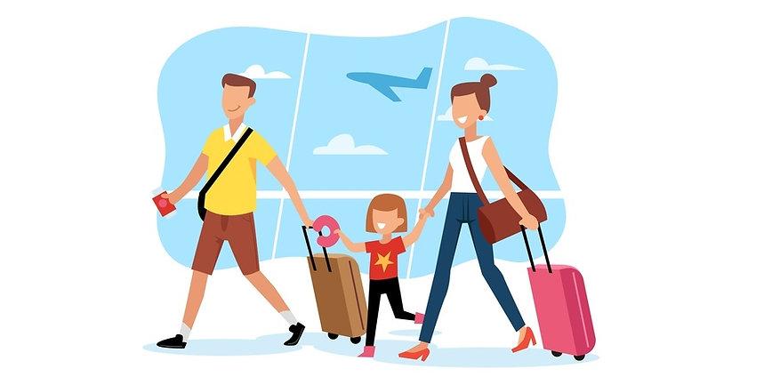 Voyage avec enfants avion