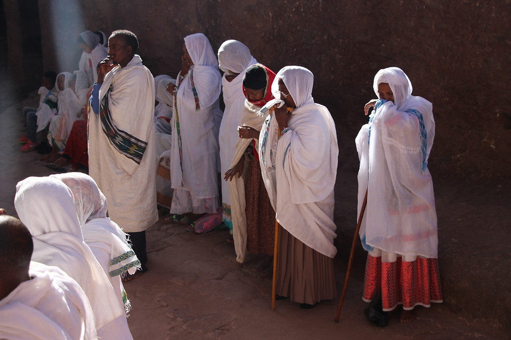 Lalibela Ethiopie dimanche