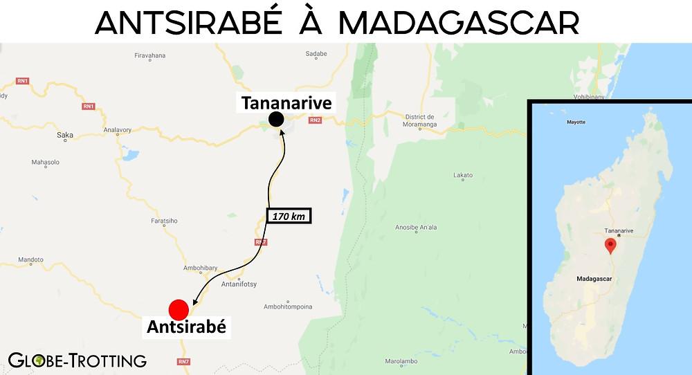 Antsirabé à Madagascar