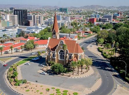 Windhoek Namibie départ