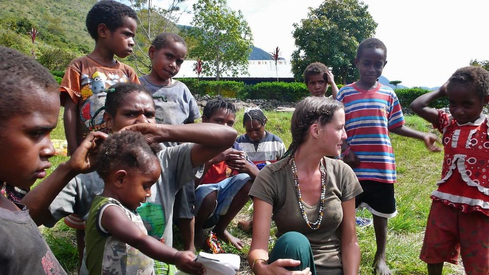 Enfants Baliem Papouasie